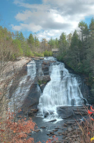 Photograph - High Falls-dupont State Park by David Waldrop