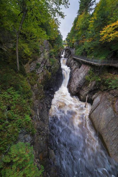 Wall Art - Photograph - High Falls Gorge Adirondacks by Mark Papke