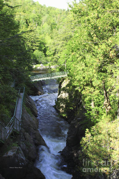 Photograph - High Falls Gorge by Deborah Benoit