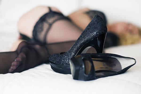 Photograph - High Heels by Rick Berk