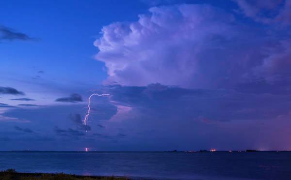 Summer Storm Photograph - High Intensity by Marvin Spates