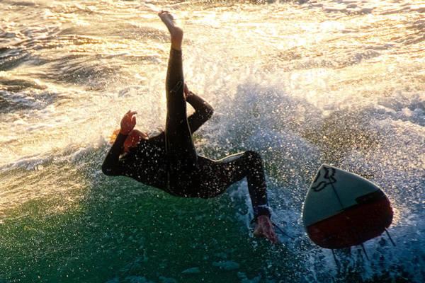 Photograph - High Kick Wipeout by Flying Z Photography by Zayne Diamond