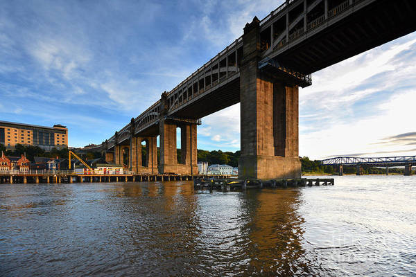 High Level Bridge Art Print