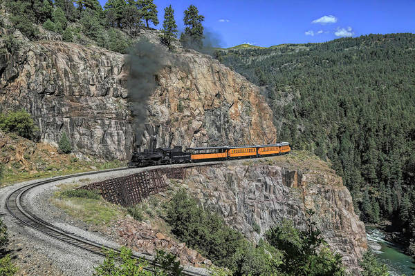 Wall Art - Photograph - High Line Horseshoe Curve by Donna Kennedy