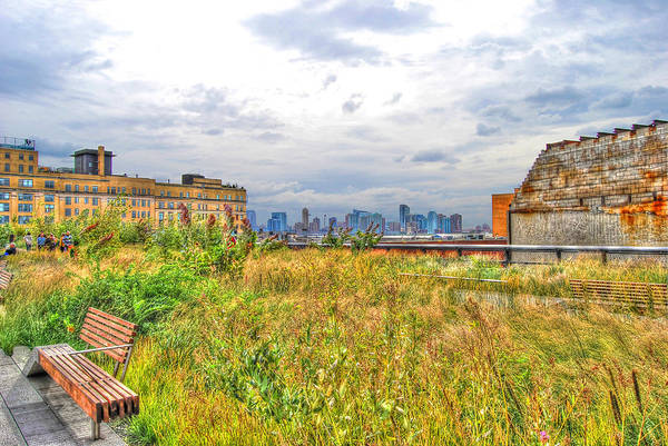 Wall Art - Photograph - High Line On The Hudson by Randy Aveille