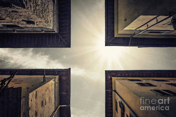 Corner Wall Art - Photograph - High Noon by Evelina Kremsdorf