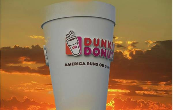 Digital Art - High On Dunkin by Charles HALL