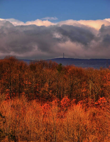 Photograph - High Point Monument In The Distance by Raymond Salani III