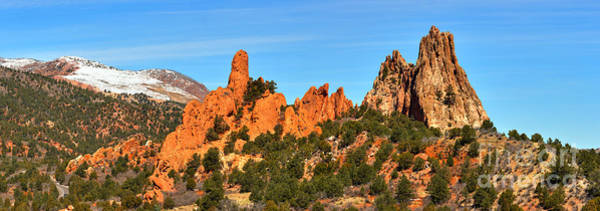 Photograph - High Point Panorama At Garden Of The Gods by Adam Jewell