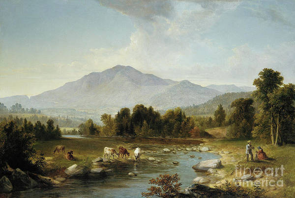 Upstate New York Painting - High Point  Shandaken Mountains, 1853 by Asher Brown Durand