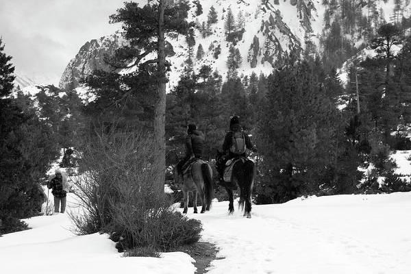 Photograph - High Mountain Riders by Aidan Moran