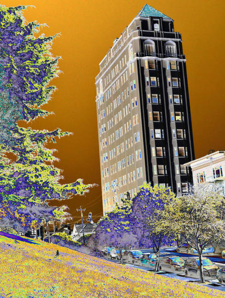 Photograph - High Rise by Tom Kelly