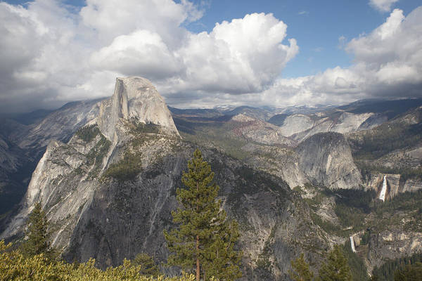 Photograph - High Sierra Overview by Harold Rau