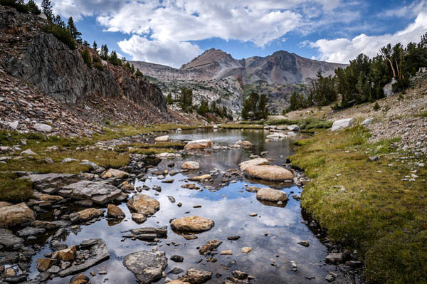 Photograph - High Sierra Tarn by Cat Connor