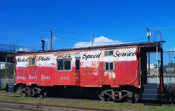 Wall Art - Photograph - High Speed Service by Pat Turner