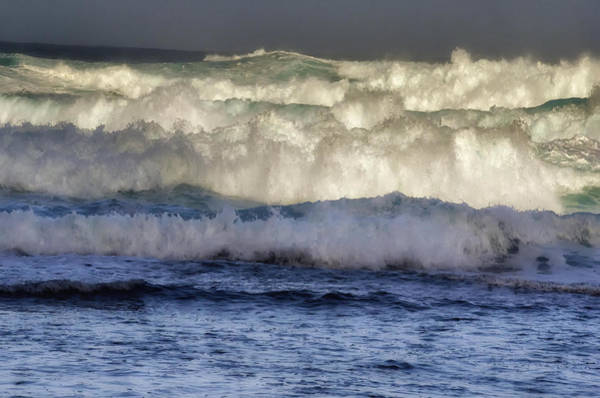 Photograph - High Surf Warning In Hawaii by OLena Art Brand