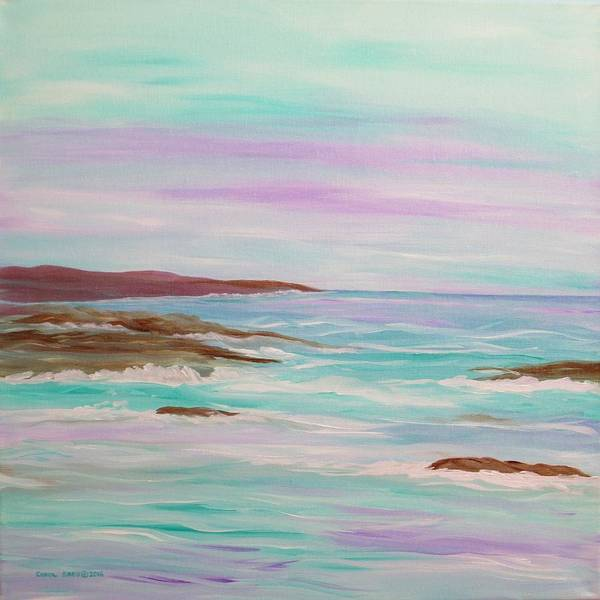 Wall Art - Painting - High Tide by Carol Sabo