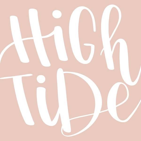 Mixed Media - High Tide by Nancy Ingersoll