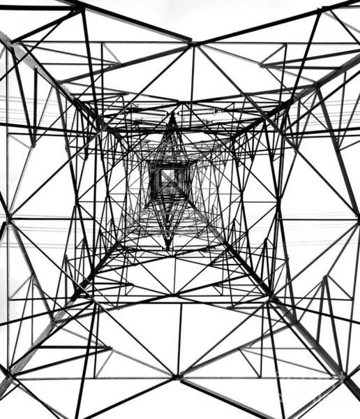 High Voltage Power Mast Art Print