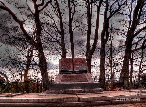 Cemetery Ridge Photograph - High Water Mark Of Confederacy by David Bearden