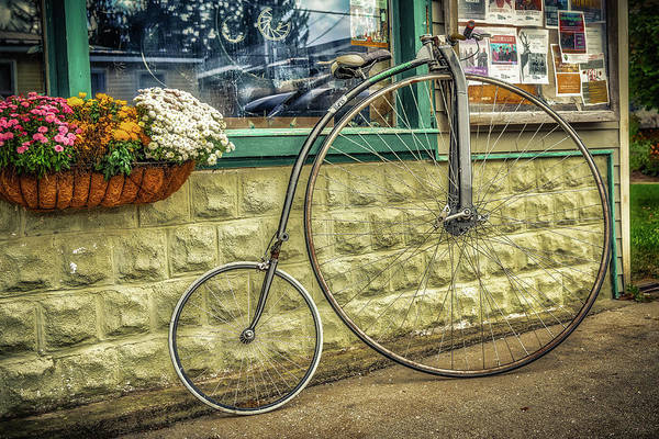 Photograph - High Wheeler by Guy Whiteley