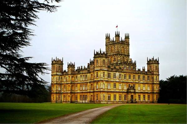 Queens Bath Photograph - Highclere Castle by Lord Frederick Lyle Morris - Disabled Veteran