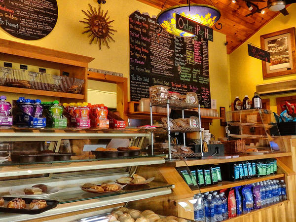 Photograph - Higher Grounds Coffee In Windham Ny by Nancy De Flon