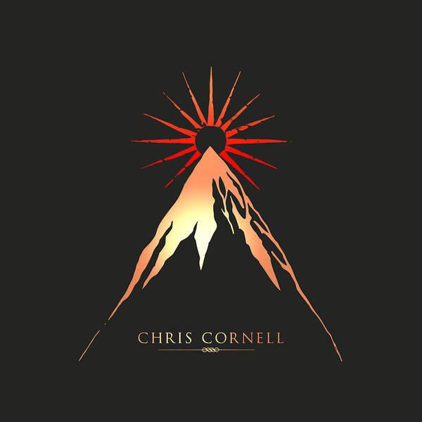 Chris Cornell Wall Art - Digital Art - Chris Cornell - Higher Truth by - BaluX -