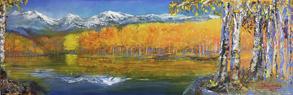 Painting - High Country by Jack Diamond