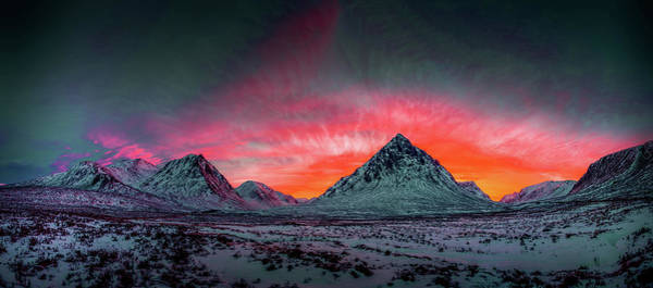 Photograph - Highland Afterglow by Peter OReilly