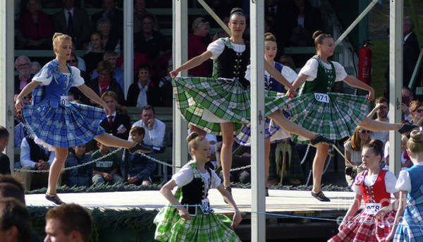 Photograph - Highland Dancers - Braemar by Phil Banks