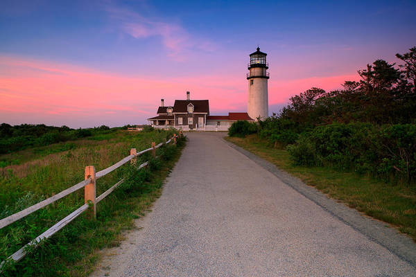 Cape Cod Sunset Photograph - Highland Light by Emmanuel Panagiotakis