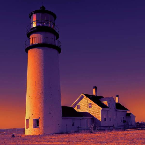 Wall Art - Photograph - Highland Light, Truro Lighthouse Cape Cod by Dapixara Art