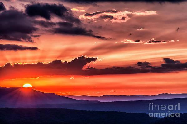 Wall Art - Photograph - Highland Sunrise by Thomas R Fletcher