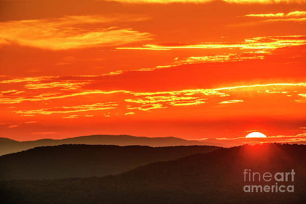Photograph - Highlands Autumn Equinox Sunrise by Thomas R Fletcher