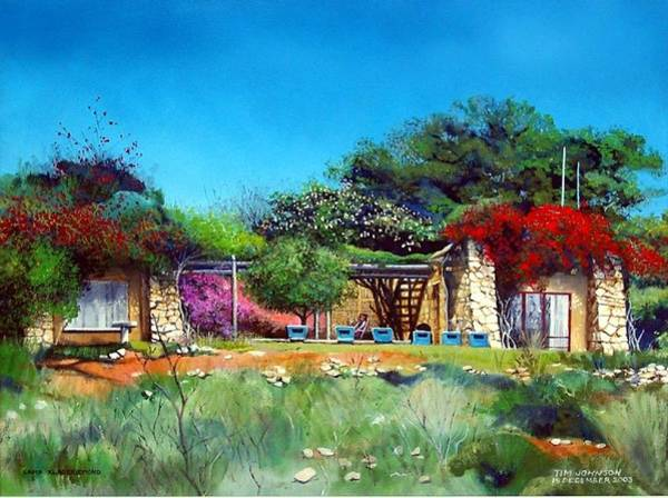 Painting - Highveld House by Tim Johnson
