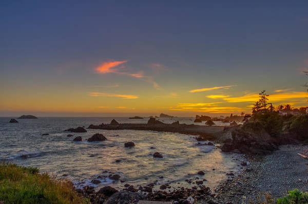 Northern California Wall Art - Photograph - Highway 101 California Sunset by Scott McGuire