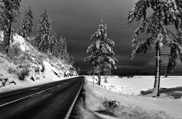 Photograph - Highway 200 Near Hope by Lee Santa