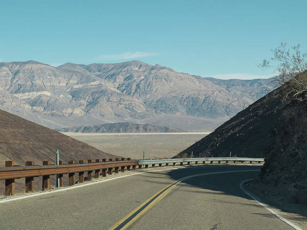 Photograph - Highway Into Death Valley by Frank DiMarco
