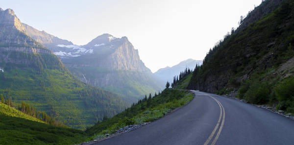 Photograph - Highway Into Glacier National Park by Lynn Hansen