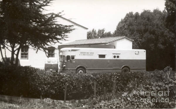Photograph - Highway Post Office At The Pacific Grove Po by California Views Archives Mr Pat Hathaway Archives