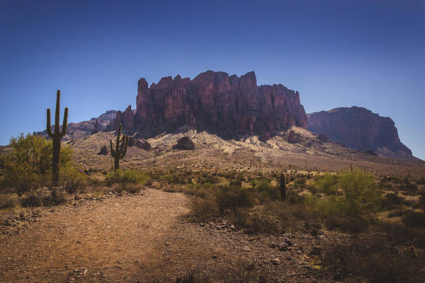 Photograph - Trail To Superstition Mountains by Andy Konieczny
