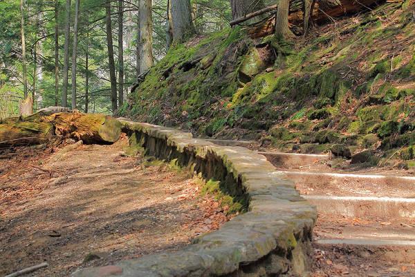 Photograph - Hiking At Cedar Falls by Angela Murdock