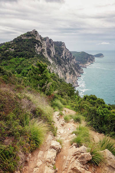 Photograph - Hiking To Portovenere Cinque Terre Italy by Joan Carroll