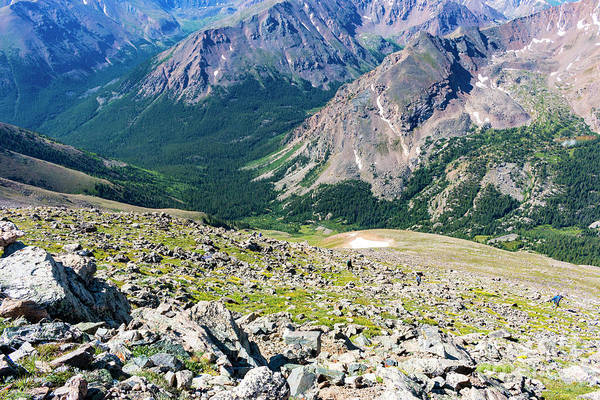 Photograph - Hiking To The Mount Massive Summit by Steve Krull