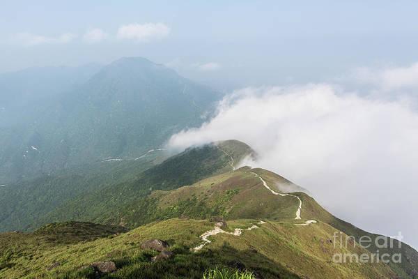 Photograph - Hiking Trail In Lantau Island, Hong Kong by Didier Marti