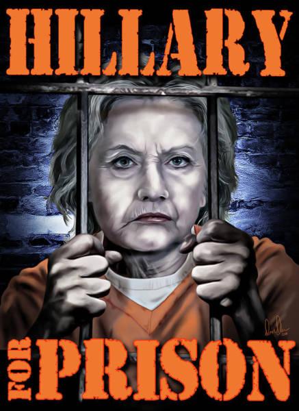 Hillary Clinton Photograph - Hildabeast by Don Olea