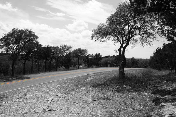 Photograph - Hill Country Highway by Dylan Punke