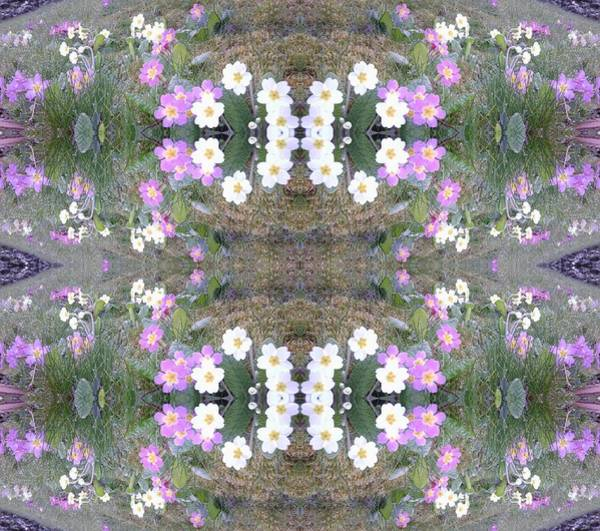 Photograph - Hill Of Flowers Double by Julia Woodman