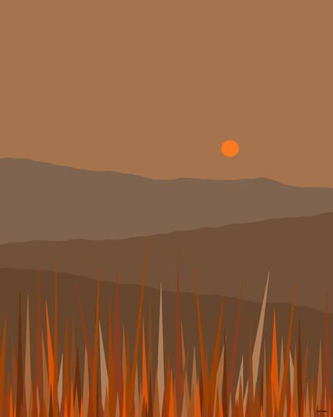 Digital Art - Hill Top Retreat by Val Arie